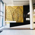 Trilogy 5m x 5m Gold leaf panel